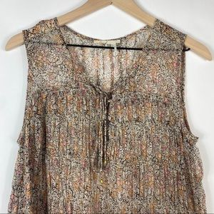 Anthropologie Tops - Anthropologie Floreat Calla Tiered Swing Tank